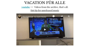 VACATION FÛR ALLE - Video Collage Playlist (2015-2019) feat. also Songs