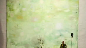 """""""Let in The New Day"""" song by Tim Schmidt and painting by Olle Schmidt"""