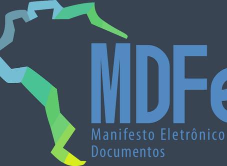 Obrigatoriedade da Emissão do Manifesto de Cargas - MDF-e