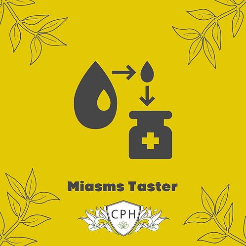 Miasms Part 1 - Intro