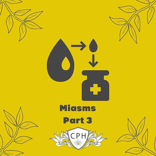 Miasms Part 3 - Prescribing