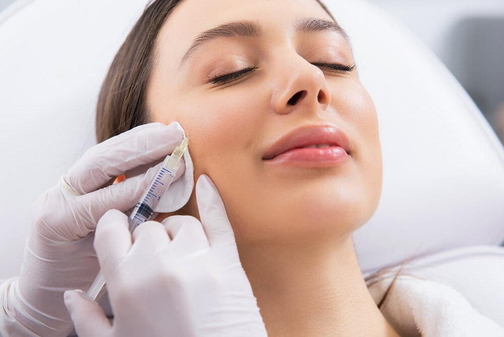 Microneedling treatment, women getting lucrative treatment.