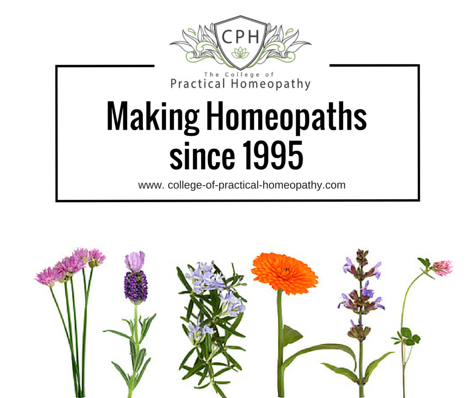 Making homeopaths since 1995