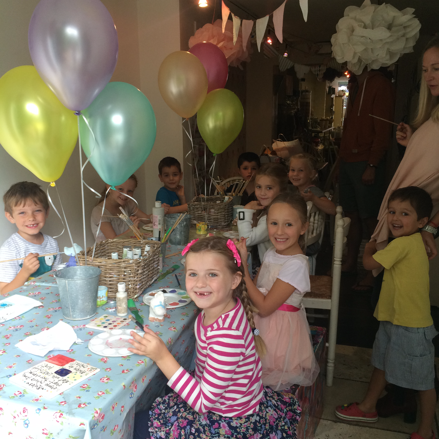 Pottery Party Teddington