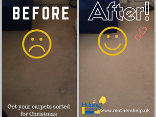 Look what our carpet cleaning team has done!