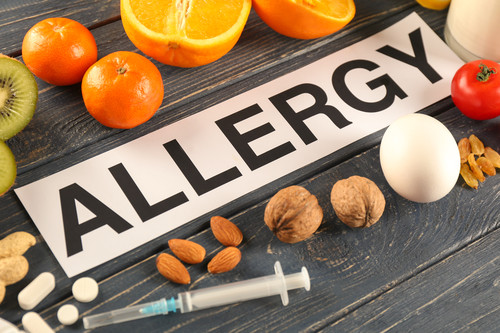 Allergy treatment, homeopathy