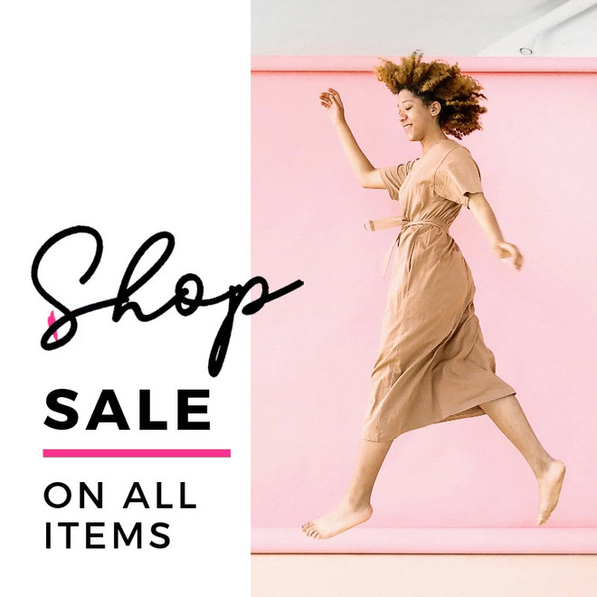 Sale images for newsletters
