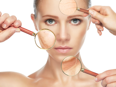 How to visibly reduce signs of ageing and acne scarring.