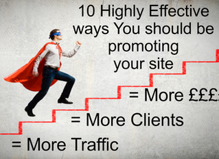 10 Effective ways to promote your site!