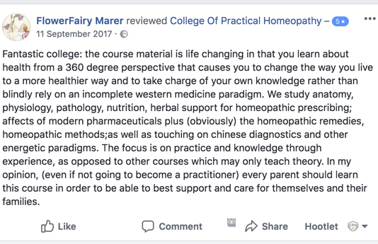 Our Homeopathic School is 5 STARS