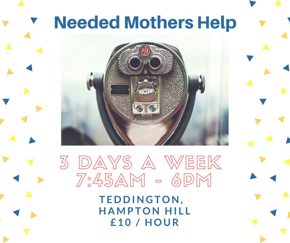 Nanny Teddington