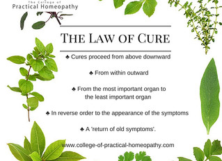The Law of Cure