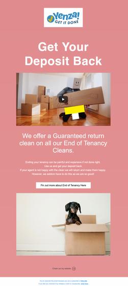 Yenza Marketing Email