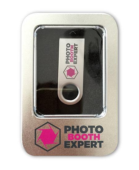Clef USB avec boite souvenir