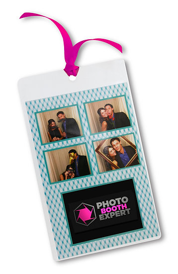 bookmark with ribbon for 4x6 picture