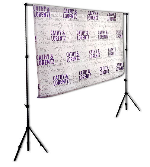 Personalized backdrop  5''x 4''