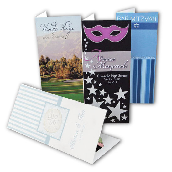 personalized card for photo strips - Deluxe