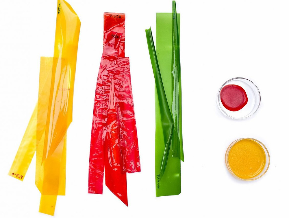 Traceless materials for food packaging