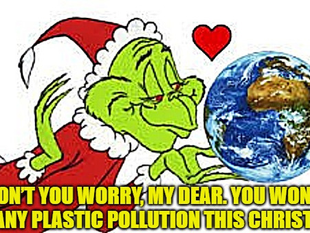 No more plastic pollution: How to give a Christmas present to the Earth
