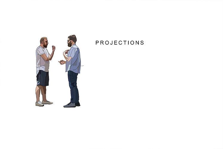 discuss between man because ego. Emy Sato illustration @ilustreemy