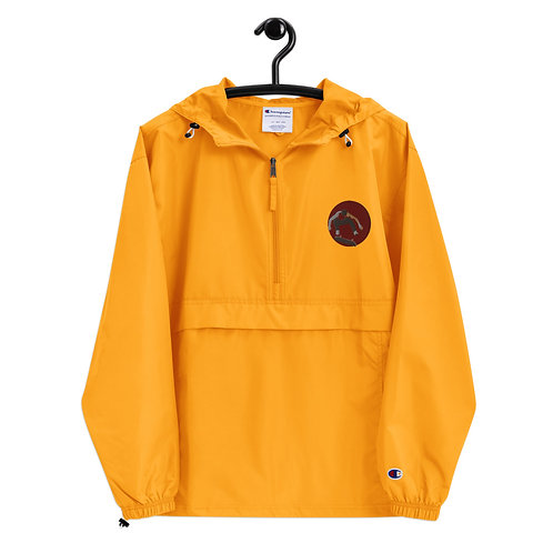 Tiger Skateboard - Embroidered Champion Packable Jacket