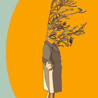 Woman Tree Illustration - Emy Sato