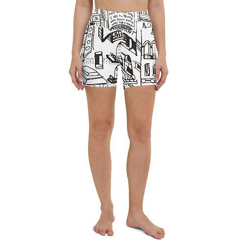 Because Of Nina - Yoga Shorts