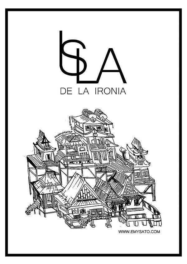 Isla de la Ironia, exhibition 2019 flyer