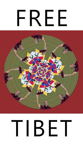 free tibet illustration. Emy Sato illustration @ilustreemy