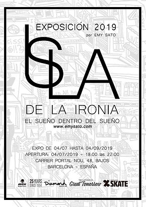 Isla de la Ironia, exhibition 2019