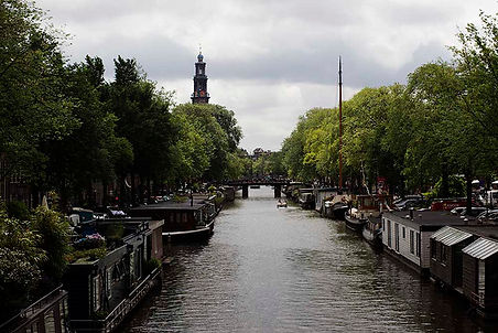 Canal from Amsterdam