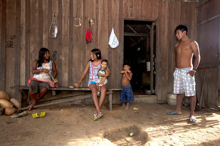 Traditional Brazilian Family