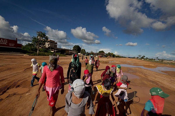 Caretas em Brasil Novo, Pará
