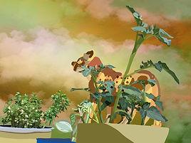 Cheetah illustration. Guepard illustration. Emy Sato. @ilustreemy