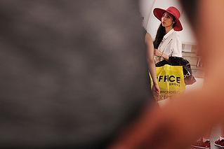 Asian woman in Prague