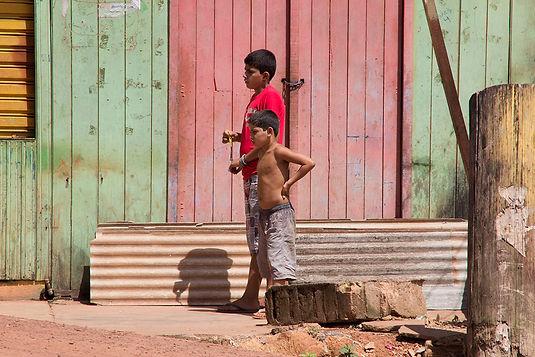 Brothers in Altamira, Para, Brasil