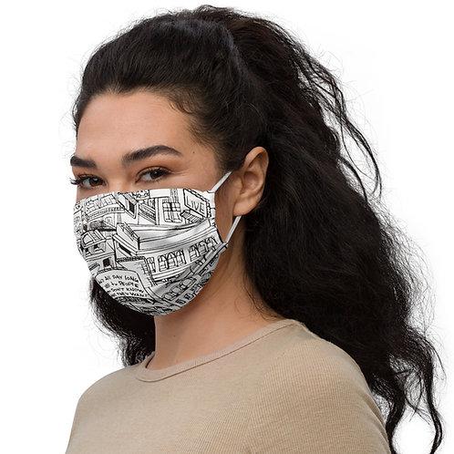 Because of Nina - Face mask