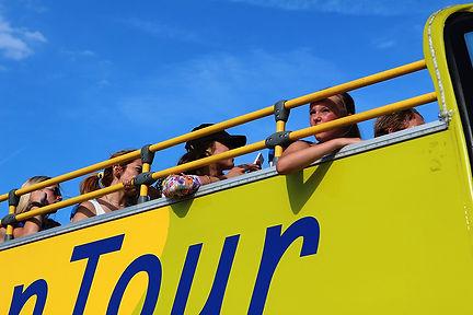Touristic bus in Paris