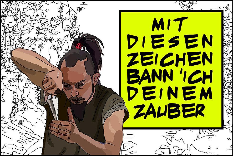 Valis, from philip k. dick illustration. mit diesen zeichen bann ich deinem zauber