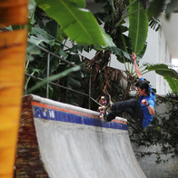 Rene Shigueto skate in Mureta ramp
