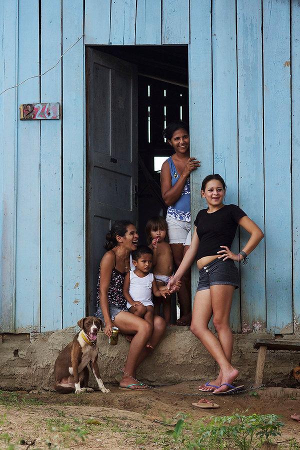 Brazilian Family, xingu, belo monte, para, brasil