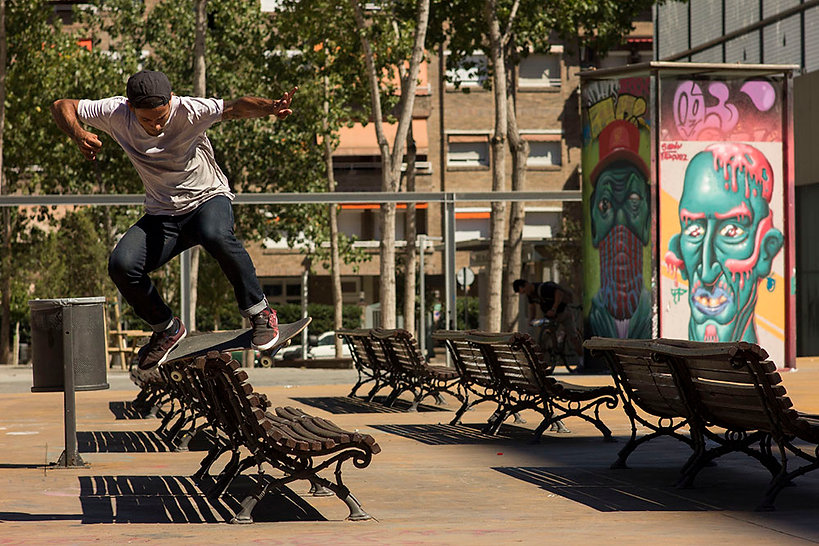 Junior Pig skate in Paralel - Barcelona - Spain