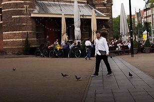 skateboard in amsterdam