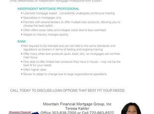 Choosing the Right Mortgage Professional