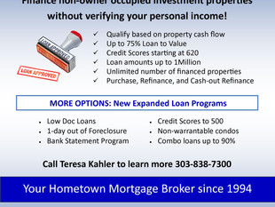 Income Property Financing