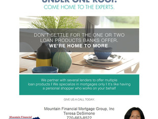 Why use a Mortgage Broker? Hundreds of mortgage options under one roof!