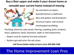 Renovation Home Loans