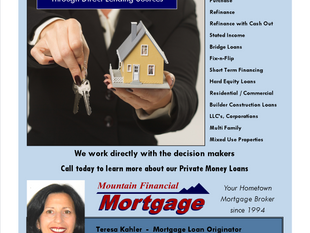Private Money Financing