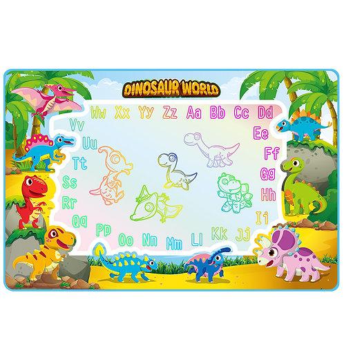 Dinosaur Doodle mat