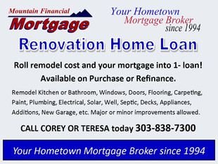 Renovation Loan - Remodel fixer upper